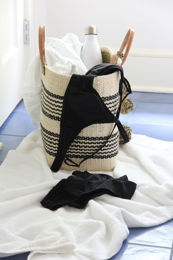 Ridgely Brode bought a new swim suit and cover up to wear this Summer and shares them plus a few other favorites on her blog Ridgely's Radar.