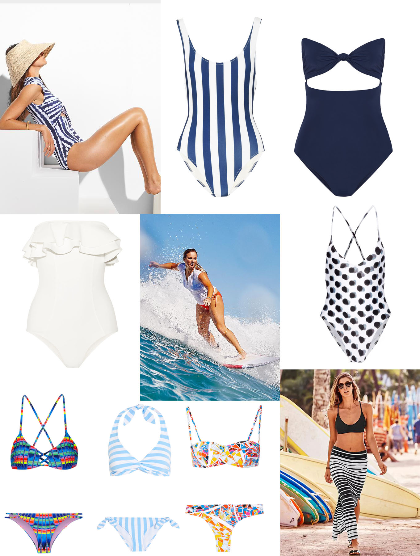 Ridgely Brode wonders how many swimsuits she should have and comes up with what she thinks will work for her on her blog Ridgely's Radar.