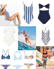 Ridgely Brode wonders how many swimsuits she should have and comes up with what she thinks will work for her on her blog Ridgely