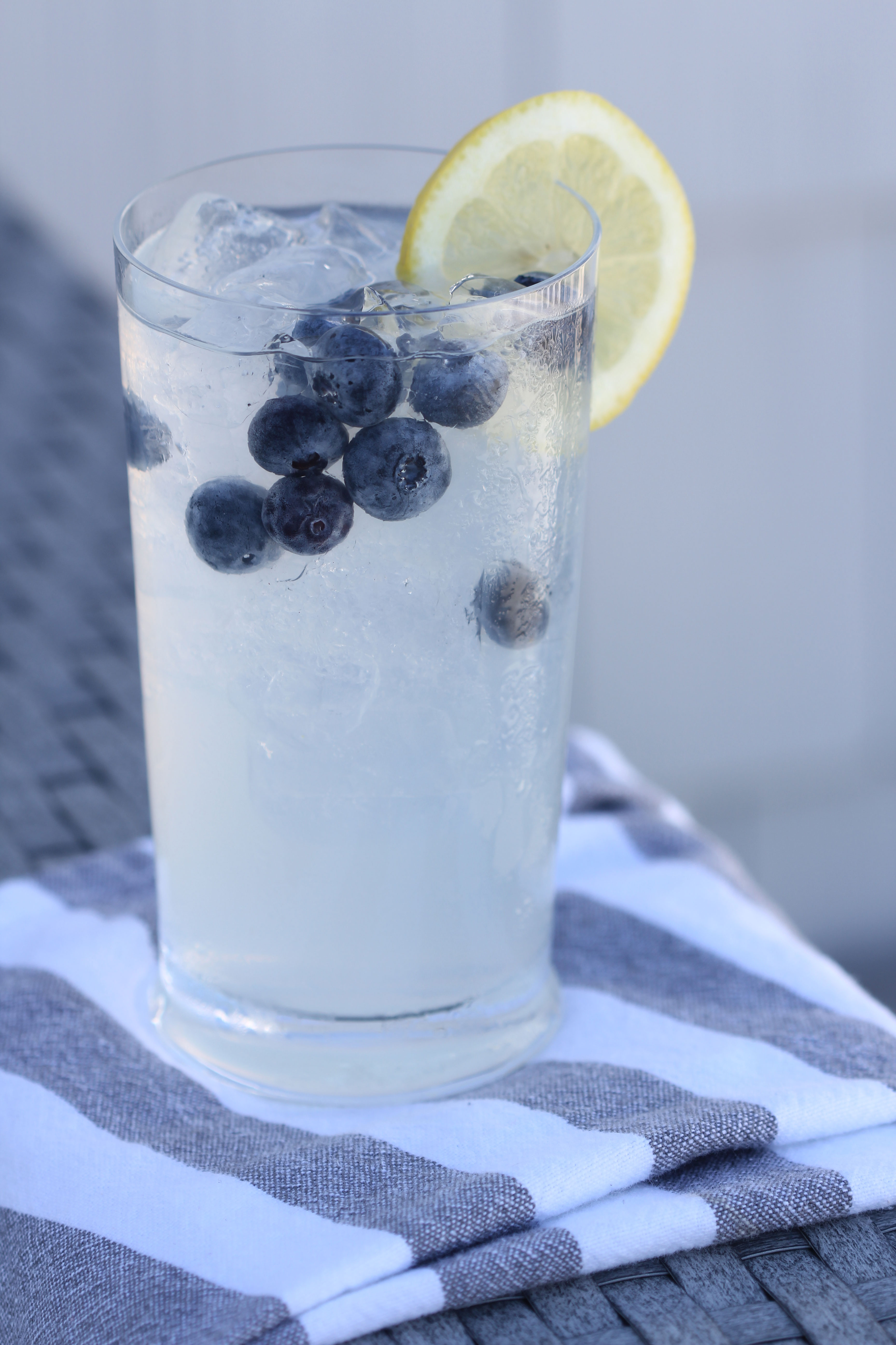 Looking for a fresh, delicious cocktail, Ridgely Brode makes a spiked blueberry lemonade and shares the recipe on her blog, Ridgely's Radar.