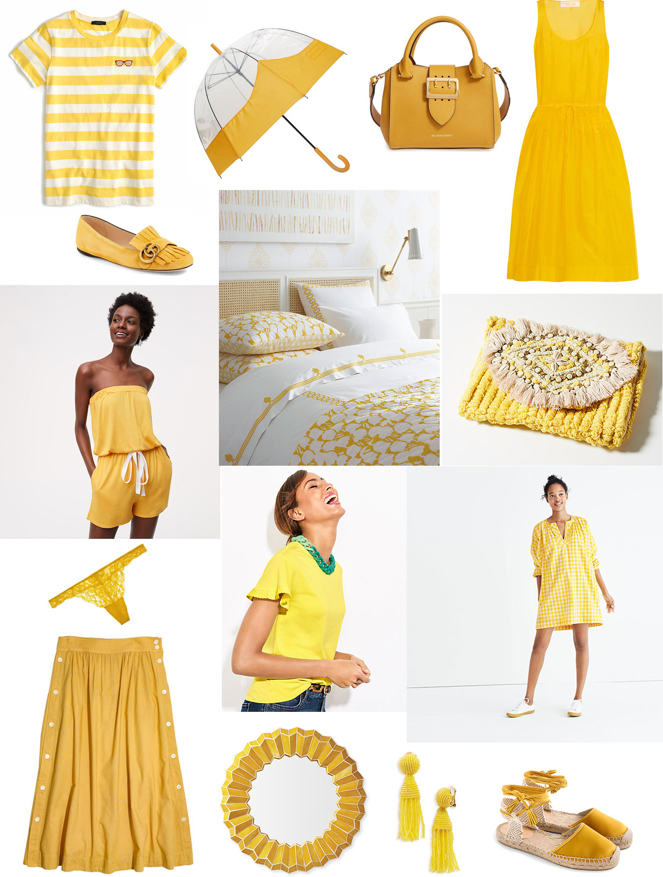 Nothing like some happy yellows to brighten your mood and lift your spirits, take a look at all these bright sunshine colored picks on Ridgely's Radar.