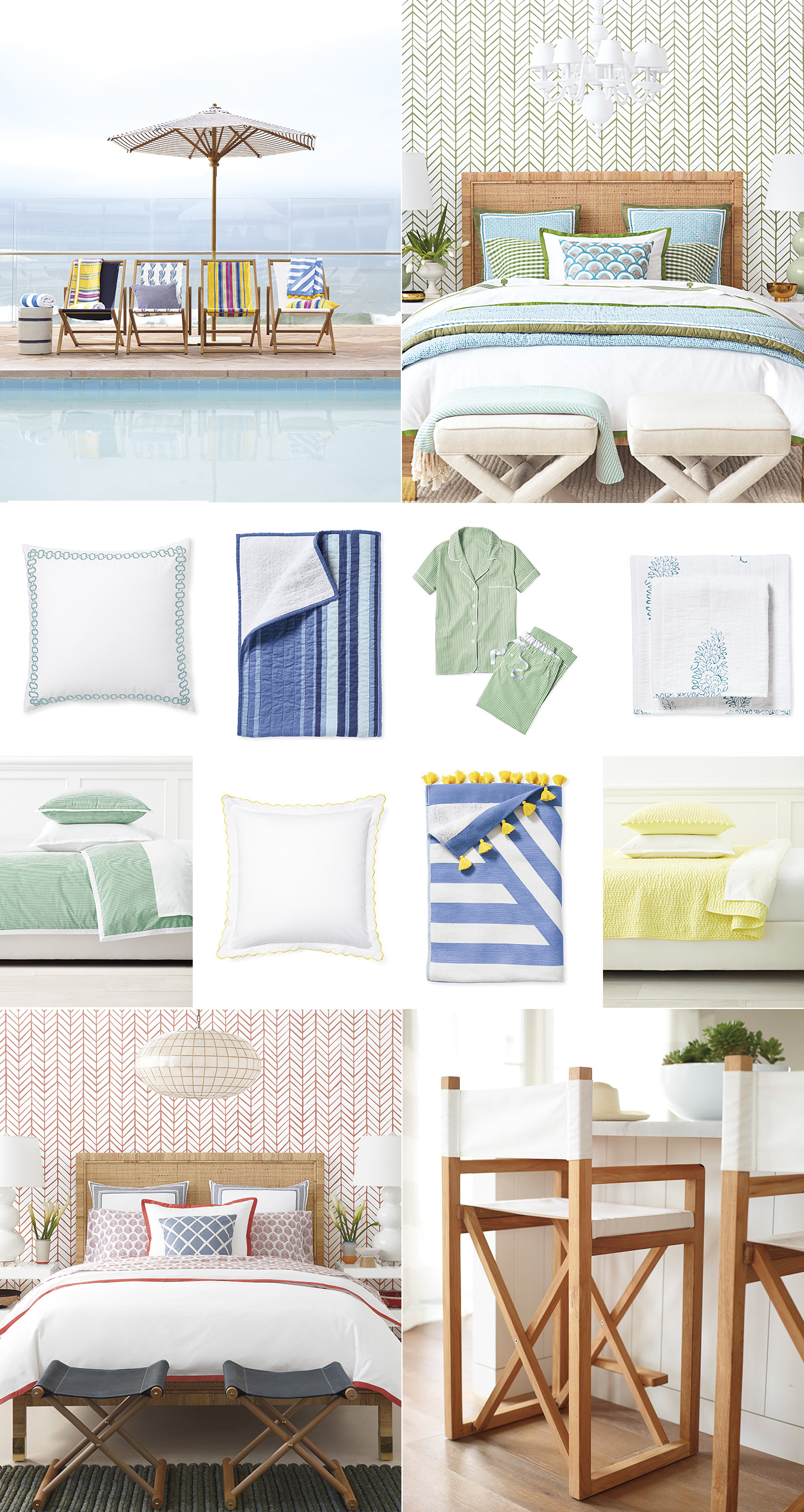 Ridgely Brode rounds up her favorite bedding and bath items from the Serena & Lily Tent Sale on her blog, Ridgely's Radar.