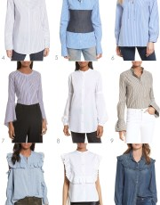 Ridgely Brode discovers 15 Updated Button Down Shirts that will up her style game and work uniform on her blog, Ridgely