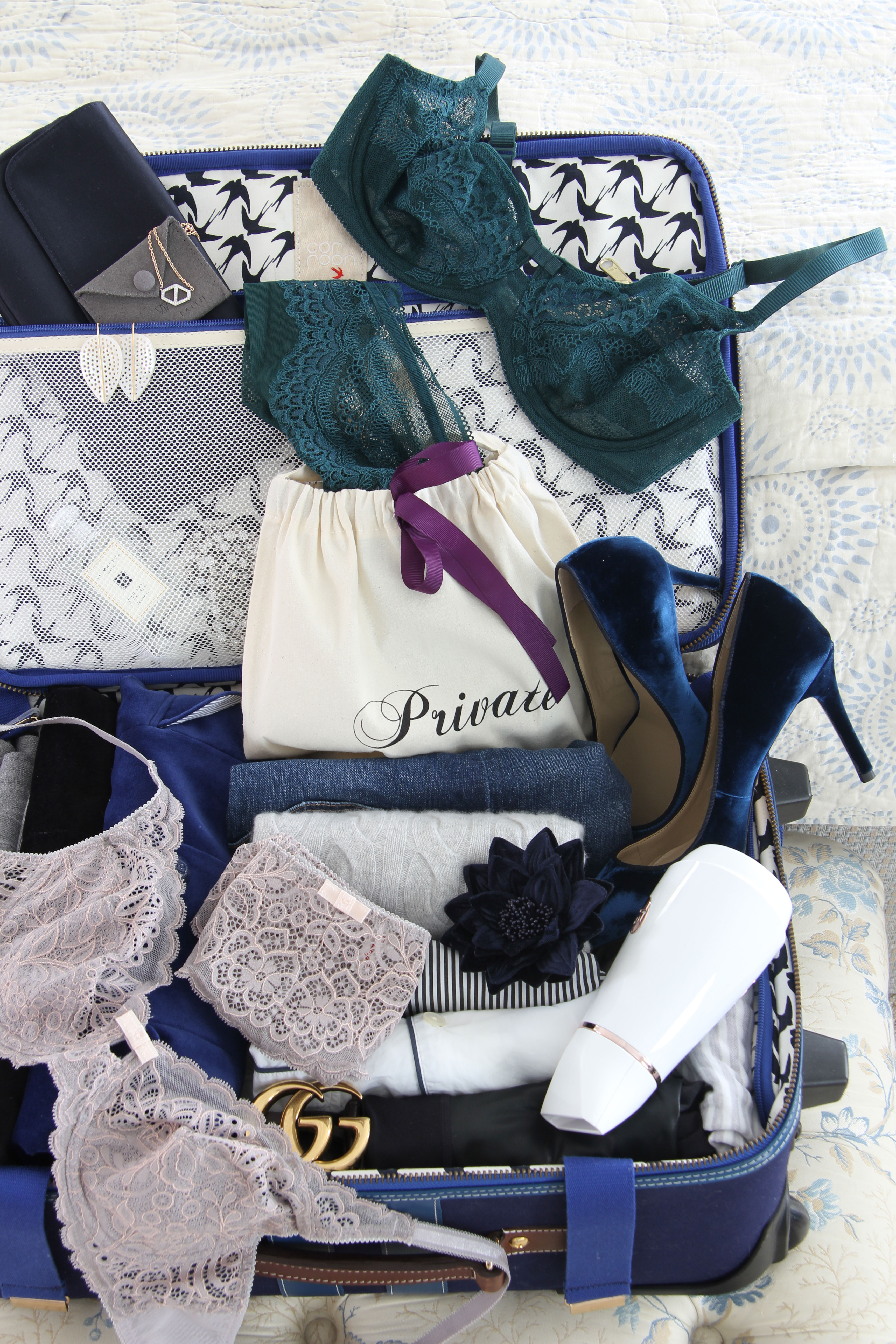 Ridgely Brode shares her favorite present under her tree on Ridgely's Radar and it is some new sets of lingerie from Journelle.