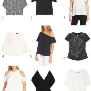 9 Short Sleeve Blouses