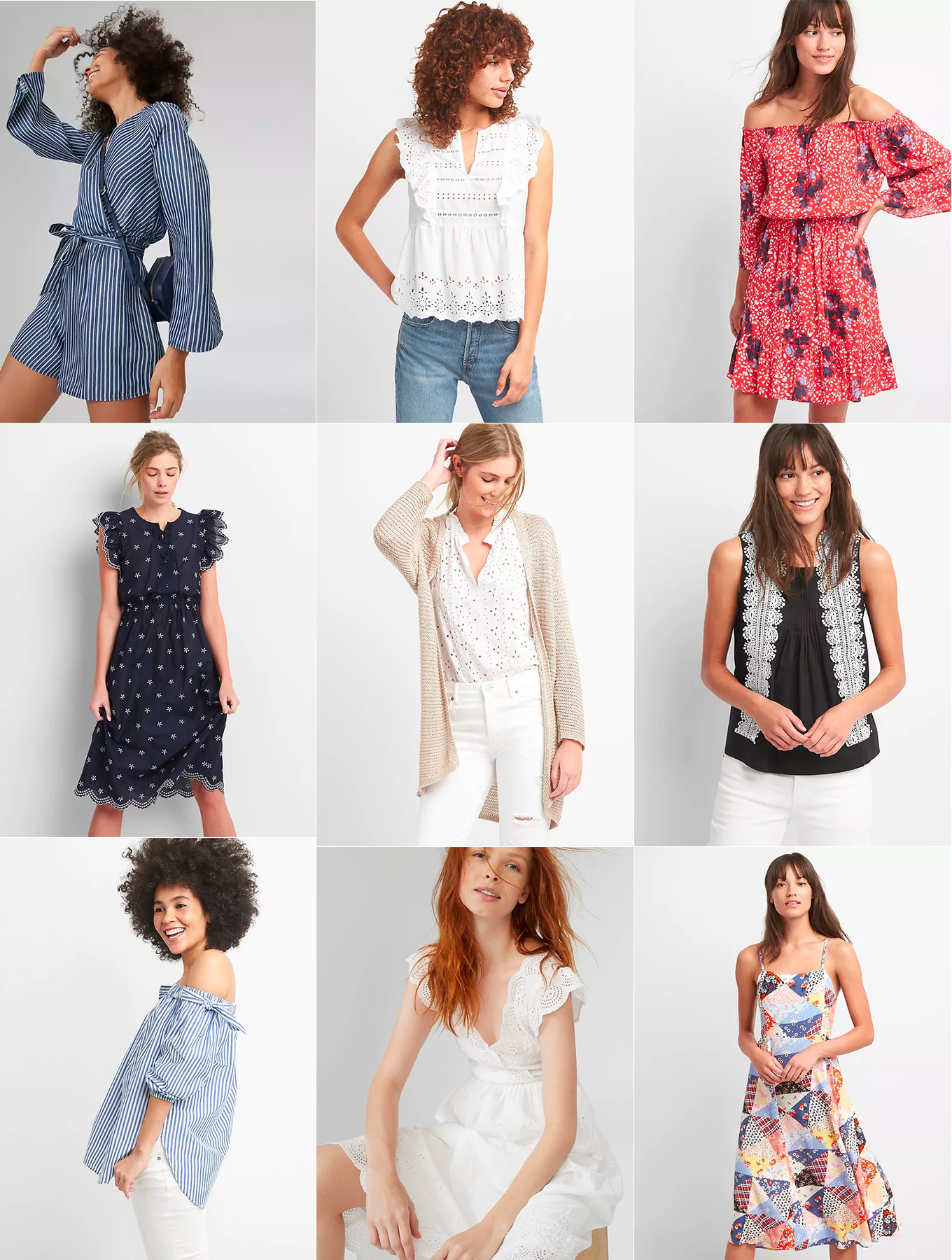Ridgely Brode shops the Fill Your Basket event at Gap and shares some of her favorites on her blog, Ridgely's Radar.