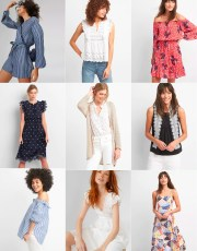 Ridgely Brode shops the Fill Your Basket event at Gap and shares some of her favorites on her blog, Ridgely