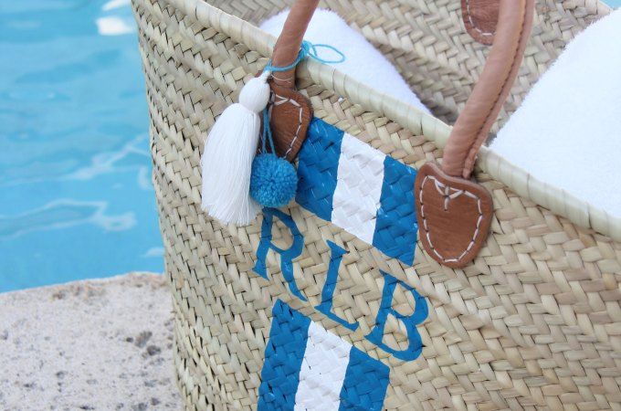 Ridgely Brode loves her monogramed straw tote from Lively Design and wants you to get to know Kelly the designer behind the fabulous personalized bags.