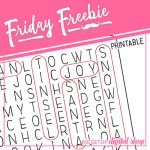 Friday Freebie: Christmas Word Search