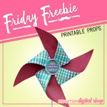 Friday Freebie: Ugly Sweater Pinwheel