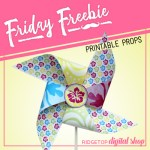 Friday Freebie: Tropical Pinwheel