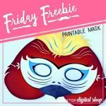 Friday Freebie: Parrot Mask