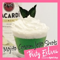 St. Patrick's Day Green Jello Shot | Mojito Jello Shot | Ridgetop Digital Shop