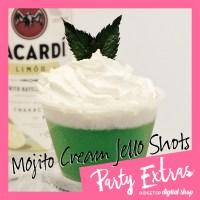 St. Patrick's Day Green Jello Shot | Mojito Jello Shot | Ridgetop Digital Shop