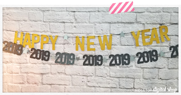 Ridgetop Digital Shop | New Year's Eve 2019 | SVG