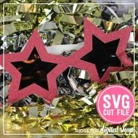 Ridgetop Digital Shop | Star Glasses SVG file