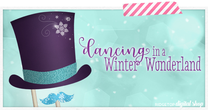 Ridgetop Digital Shop | Winter Printables and Photo Booth Props