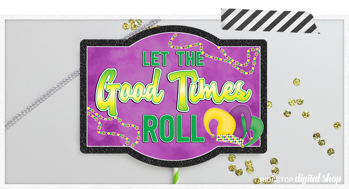 Mardi Gras Party Printables | Mardi Gras Photo Booth | Mardi Gras Photo Props | Ridgetop Digital Shop