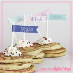 Snapshot – Straw Flags – Pajamas and Pancakes