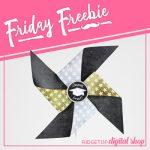 Friday Freebie: Graduation Pinwheel