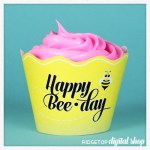 Snapshot – Cupcake Wrapper – Happy BeeDay