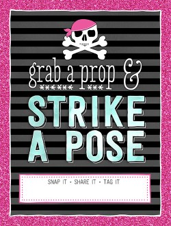 Ridgetop Digital Shop | Friday Freebie | Lady Pirate Photo Booth Sign | Free Printable | Bachelorette
