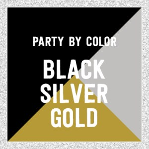 Black Gold Silver