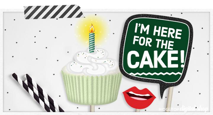 Ridgetop Digital Shop   Printable Birthday Photo Booth Props   Camo Party   PDF
