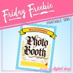 Friday Freebie: Oktoberfest Photo Booth Sign