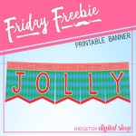 Friday Freebie: Ugly Sweater Printable Banner