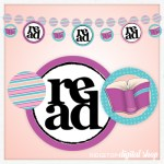 Snapshot: Book Club Banner Printable