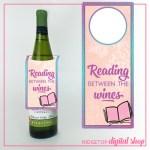 Book Club Printable Wine Tag