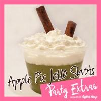 St. Patrick's Day Green Jello Shot REcipe | Apple Pie Jello Shot Recipe | Ridgetop Digital Shop