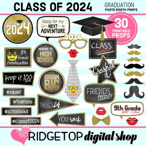 Class of 2024 | 8th Grade Graduation | 8th Grade Promotion | Ridgetop Digital Shop