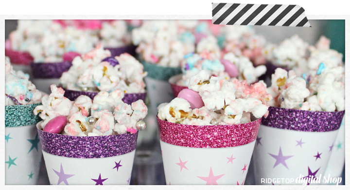 Party Popcorn Recipe | Candy Melts | Sprinkles | M&M's | Ridgetop Digital Shop