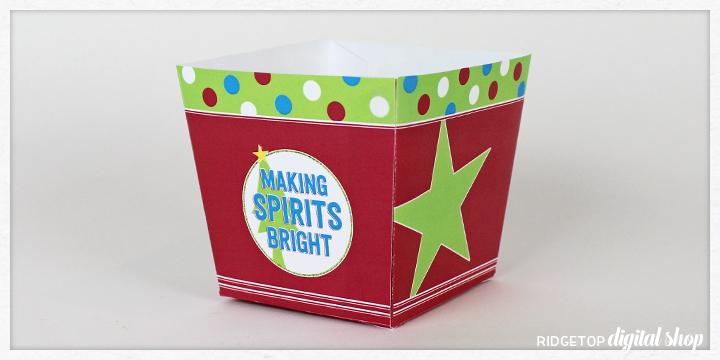 Free Party Printable Snack Box Assembly | Ridgetop Digital Shop