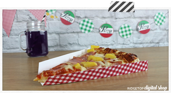 Pizza Party Tray Free Printable   Ridgetop Digital Shop
