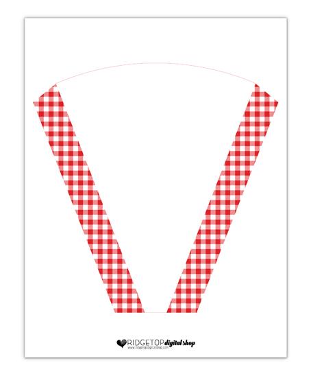 Pizza Party Tray Free Printable | Ridgetop Digital Shop