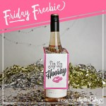 Girl's Night Wine Tag Free Printable