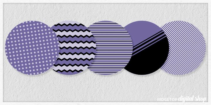 Victorian Lilac Party Circles Free Printable | Ridgetop Digital Shop