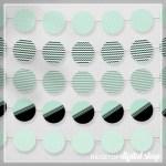 Mint Party Circles Free Printable