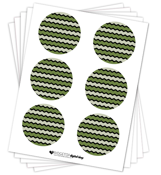 Olive Party Circles Free Printable   Ridgetop Digital Shop