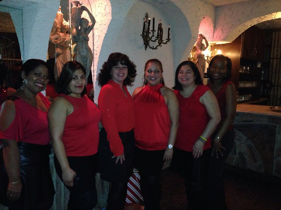 Dancing with the Girls from Ridgewood Dance Studio, incl Nelly Rivera