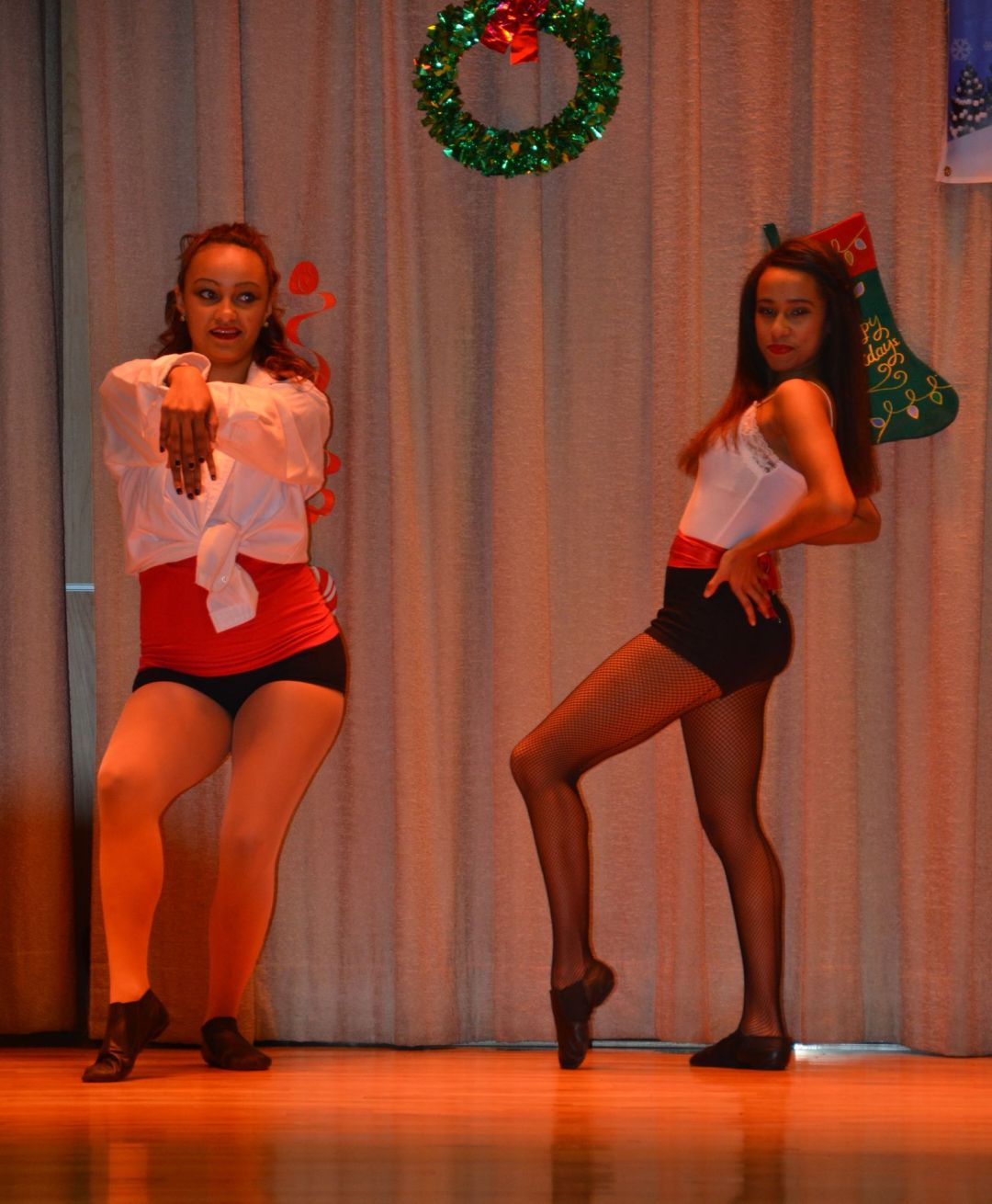 Ridgewood Dancers, Kayla Colon left