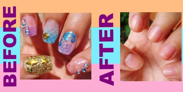 How To Remove Acrylic Nails Step By