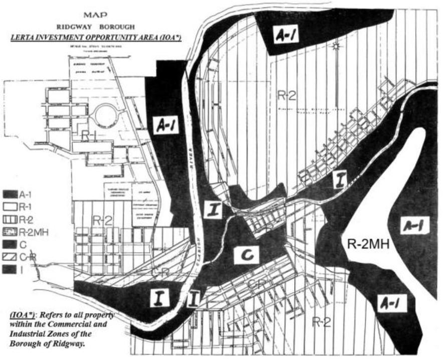 LERTA ordinance map