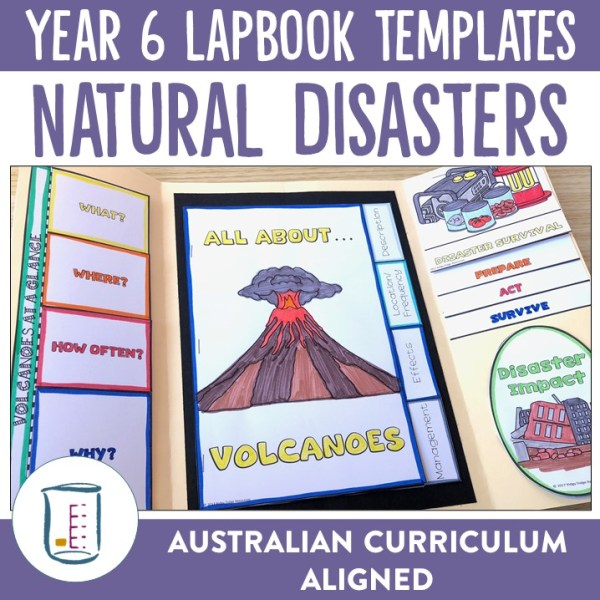 Natural Disasters Lapbook Templates | Ridgy Didge Resources | Australia