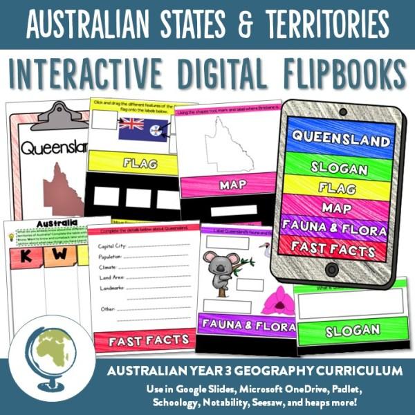 AUSTRALIAN STATES & TERRITORIES DIGITAL FLIPBOOKS | RIDGY DIDGE RESOURCES | AUSTRALIA