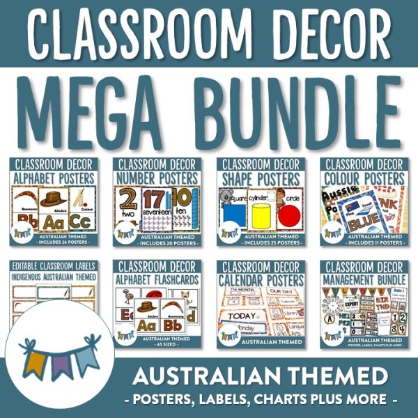 AUSTRALIAN DECOR MEGA BUNDLE | RIDGY DIDGE RESOURCES | AUSTRALIA