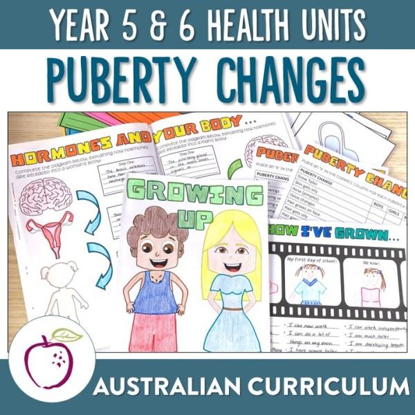 Australian Curriculum Puberty Unit | Ridgy Didge Resources | Australia